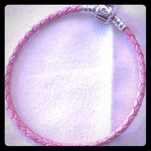 Pandora Pink Bracelet - never worn